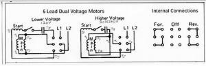 Single Phase 4 Pole Motor Wiring Diagram