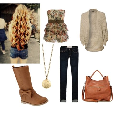 Simple cute school outfit - Polyvore