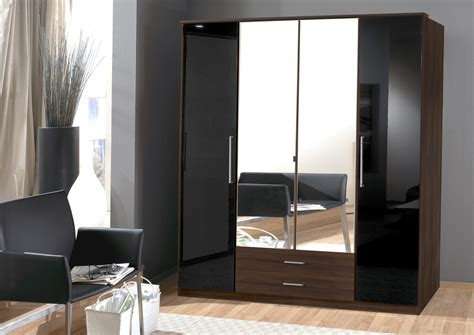 High Gloss Wardrobes by 15 Best Collection Of High Gloss Black Wardrobes
