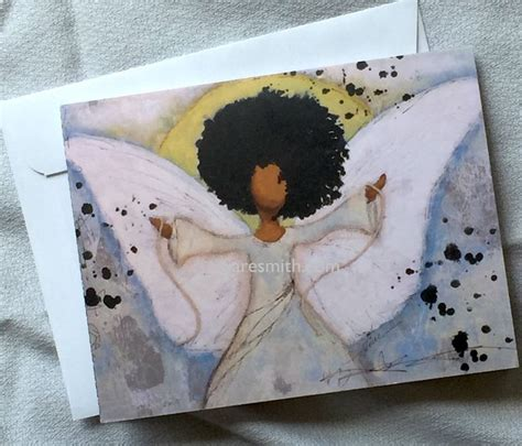 boundless angel notecard  images note cards craft