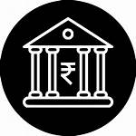 Finance Banking Icon Bank Safe Money Government