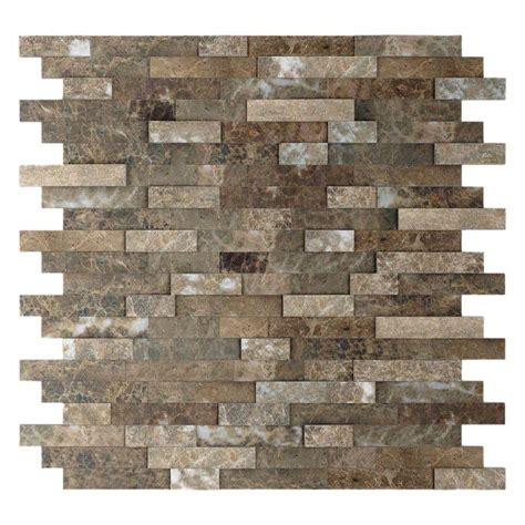 cheap peel and stick mosaic tile backsplash 1000 images about peel and stick backsplash on
