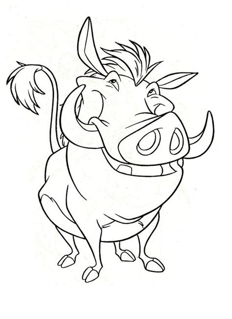 A 10 Warthog Coloring Pages Coloring Pages Warthog Printable For Adults Free