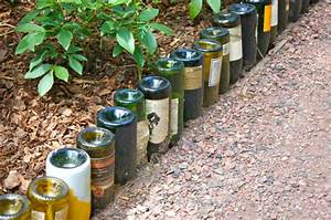 Bastelideen Für Den Garten : 26 bastelideen f r diy projekte aus weinflaschen ~ Articles-book.com Haus und Dekorationen