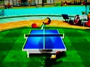 Wii Sports Resort - Table Tennis / Tischtennis - Niveau 2500 2000 1500 Pro Champion - YouTube  Table Tennis Sports