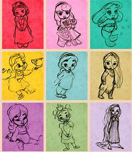 Baby Disney Princesses cute | Drawing | Pinterest | Baby ...