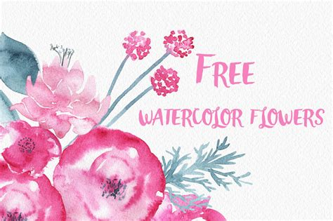 free watercolor clipart gorgeous clip watercolor flowers design