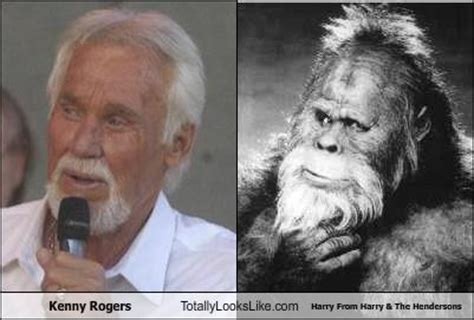 Kenny Rogers Meme - tll classic kenny rogers totally looks like harry from harry the hendersons randomoverload