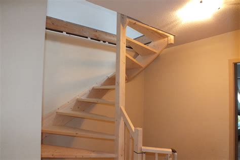 offerte vaste trap naar zolder vaste trap naar zolder in nijmegen type 2 kwarttrap
