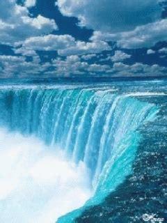 gambar animasi air terjun bergerak gambar wallpaper air
