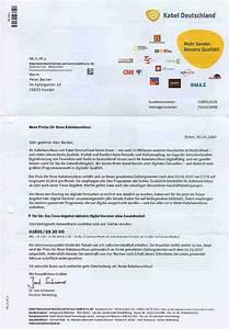 Kabeldeutschland Rechnung : kabel deutschland ~ Themetempest.com Abrechnung