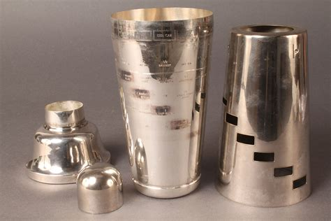 Lot Of Sterling Silver Goblets Plus Napier Cocktail
