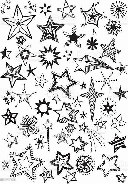 Doodle Stars Vector Istock Royalty