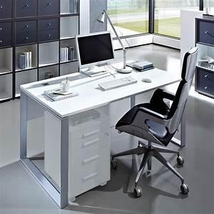 Computer Arbeitsplatz Möbel : schreibtisch arbeitsplatz arno in wei ~ Indierocktalk.com Haus und Dekorationen