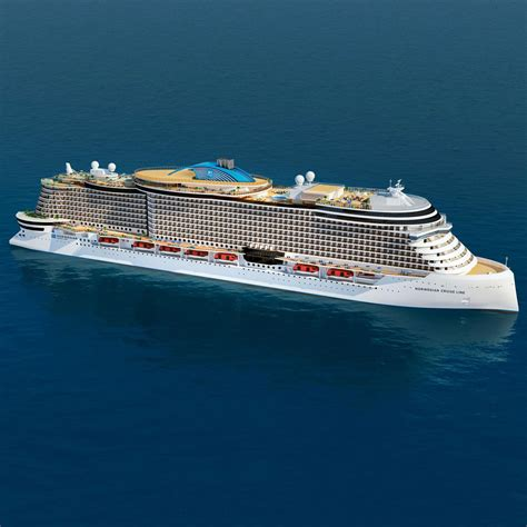 norwegian cruise line unveils quot project leonardo quot