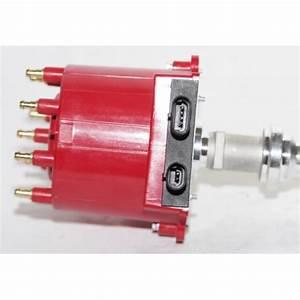 Ignition Distributor Red Cap Fit Chevy Gm 350 5 7 Efi Tbi Tpi Vortec 5 0l 5 7l
