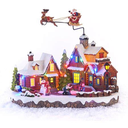 animatronic christmas decorations time decor 10 3 animated musical light