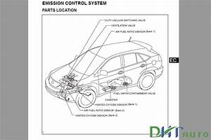 Lexus Rx 400h 2005 Service  U0026 Repair Manual