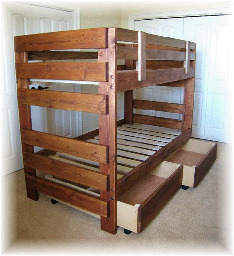 Bed Plans by Bunk Bed Plans Free Bed Plans Diy Blueprints