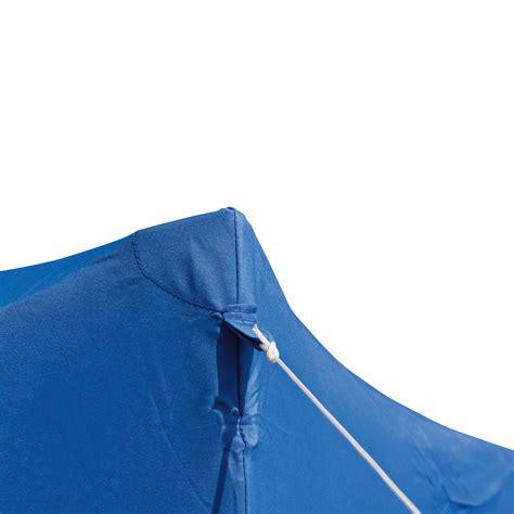 Gartenpavillon  Faltpavillon AluMetall 3x3 Meter hellblau