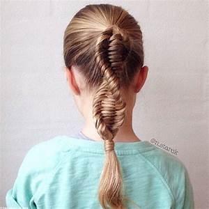 Coiffure Enfant Tresse : tresse adn comment faire une tresse adn ou dna braid coiffure cheveux long longues tresses ~ Melissatoandfro.com Idées de Décoration
