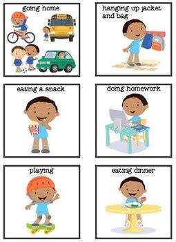 boy  school routine  ccs classroom creations tpt