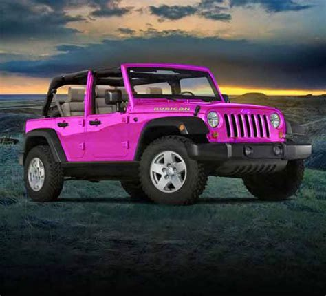 wrangler jeep pink pink jeep http www iseecars com used cars used jeep for