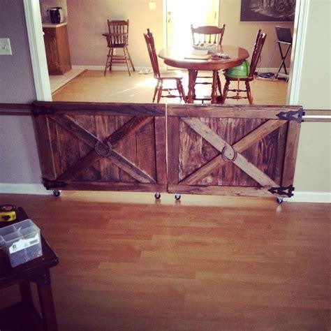 custom  barn door rolling baby gates house stuff
