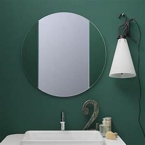Miroir Rond 50 Cm : acqua r miroir rond disponible en diff rentes dimensions ~ Dailycaller-alerts.com Idées de Décoration
