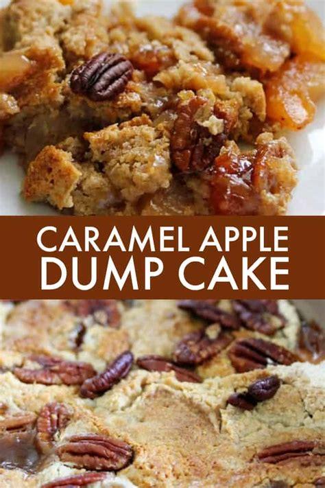 caramel apple dump cake simply stacie