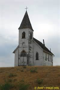 Old Abandoned Church On the Hill Outsiders