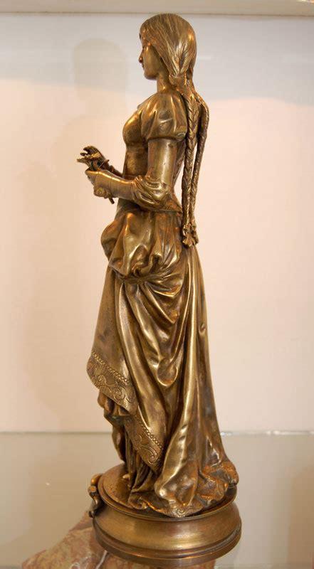 Antiques Atlas - Bronze Sculpture 'Marguerite' By Gaudez