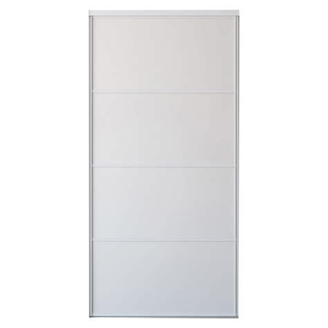 porte de placard coulissante sur mesure iliko quatro de 20 224 60 cm leroy merlin