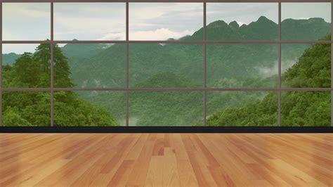 news tv studio set  virtual green screen background
