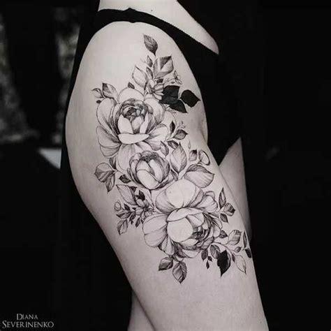Blumentattoos Mit Diana Severinenko  Die Unglaublichen