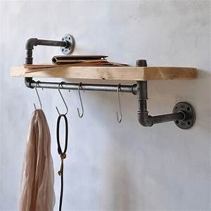 New, York, Industrial, Pipe, Shelf, By, Industrial, By, Design