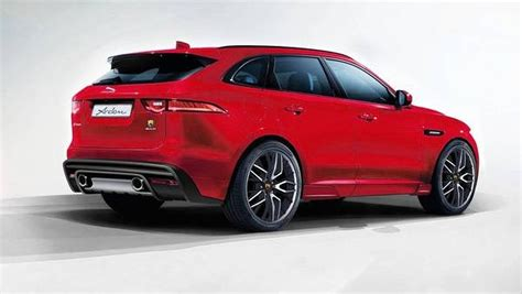 Jaguar F Pace Gets An Aero Kit From Arden  Drivers Magazine