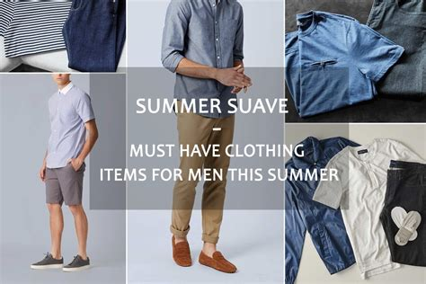 Must Have Clothing Items For Men This