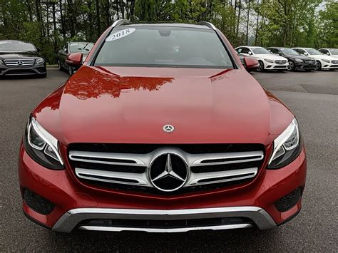 The cabin is fairly spacious for a small suv with excellent materials throughout and solid construction. Certified Pre-Owned 2018 Mercedes-Benz GLC GLC 300 SUV in Irondale #DG093858 | Mercedes-Benz of ...