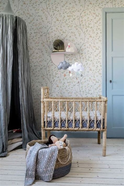 rustic nursery room ideas aesthetic characterful
