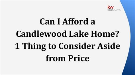 can i afford a house can i afford a candlewood lake home 1 thing to consider