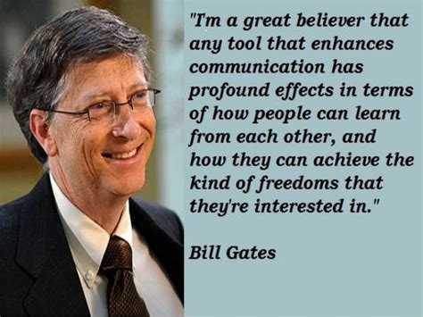 What Bill Gates said! Bill Gates greatest Quotes