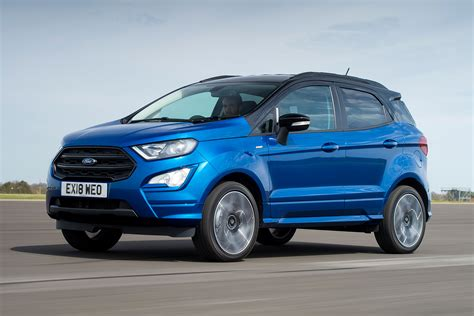 ford ecosport st line 2018 new ford ecosport st line 2018 review auto express