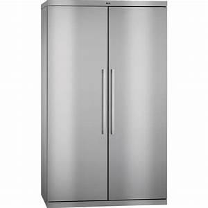 Refrigerateur Pose Libre Dans Une Niche : r frig rateur 2 portes pose libre side by side rxe75411nm aeg ~ Melissatoandfro.com Idées de Décoration