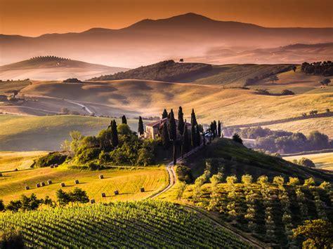 tuscany landscape  ultra hd wallpaper  wallpapernet