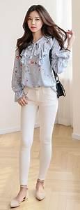S/S Korean Women Fashion Look | Itsmestyle S/S 2017 | Pinterest | Korean women See through and ...