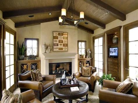 Warm, Inviting Living Room A Beautiful Fireplace And