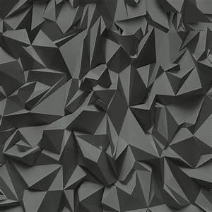 Vliestapete 3D Optik modern grau schwarz P+S Times 42097 50