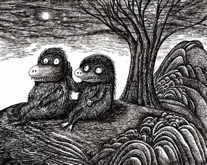 Drawings Stereographics Monster Dain Fagerholm Gifs Crush
