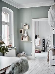 Wandfarbe Grau Grün : wandfarbe gr n grau wandfarbe inspirationen pinterest ~ Michelbontemps.com Haus und Dekorationen